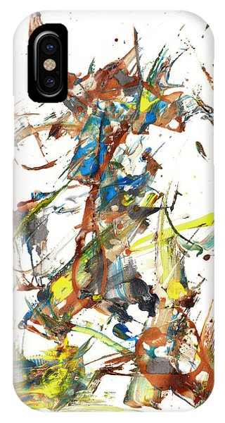 IPhone Case featuring the painting Abstract Expressionism Painting Series 1040.050812 by Kris Haas