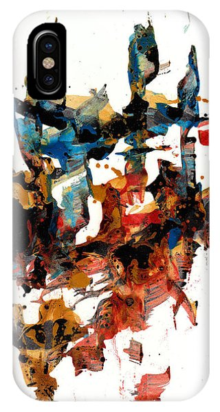 Abstract Expressionism Painting Series 750.102910 IPhone Case