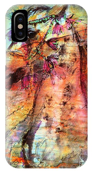 Abstract Expressive Arabian Stallion Art IPhone Case