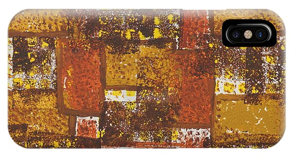Abstract_ Fall  IPhone Case