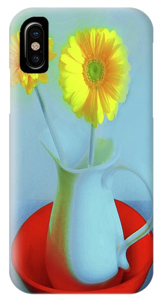 Abstract Floral Art 269 IPhone Case