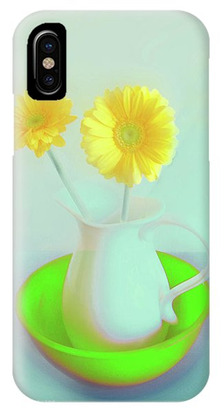 Abstract Floral Art 273 IPhone Case