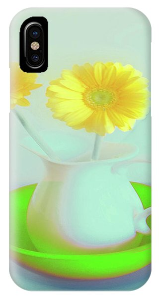 Abstract Floral Art 275 IPhone Case