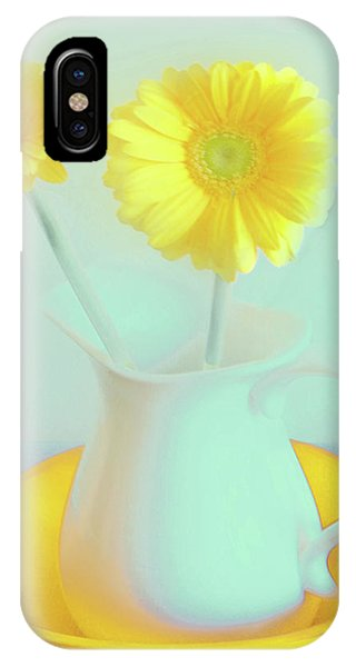 Abstract Floral Art 280 IPhone Case