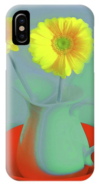 Abstract Floral Art 300 IPhone Case