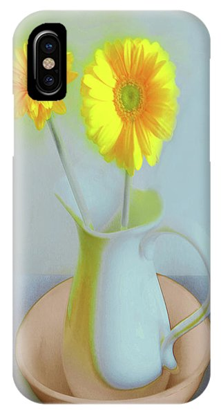Abstract Floral Art 304 IPhone Case