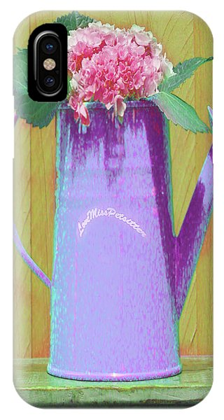 Abstract Floral Art 343 IPhone Case