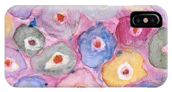 Abstract Flower Pattern Phone Case by Vanessa Baladad
