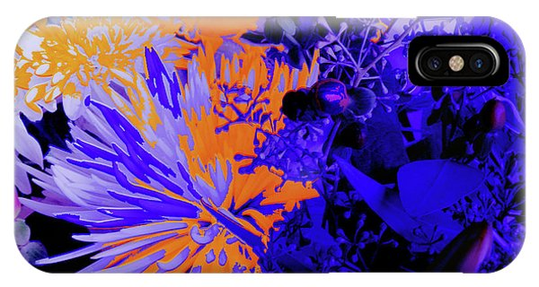 Abstract Flowers Of Light Series #1 IPhone Case