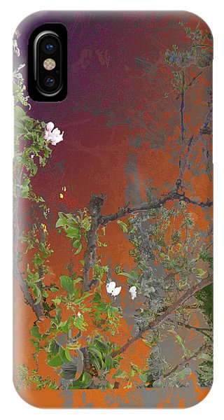 Abstract Flowers Of Light Series #13 IPhone Case