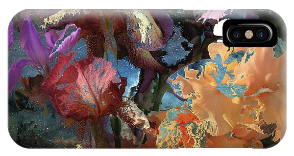 Abstract Flowers Of Light Series #15 IPhone Case