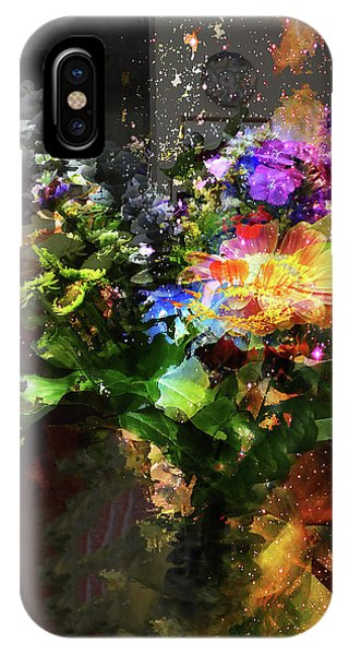 Abstract Flowers Of Light Series #17 IPhone Case