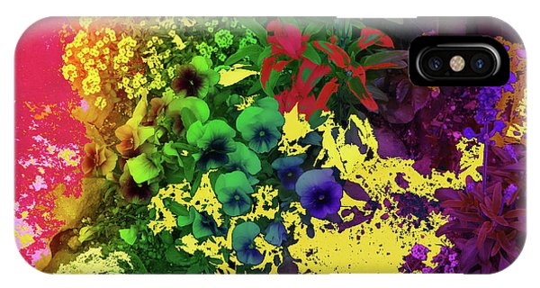 Abstract Flowers Of Light Series #2 IPhone Case