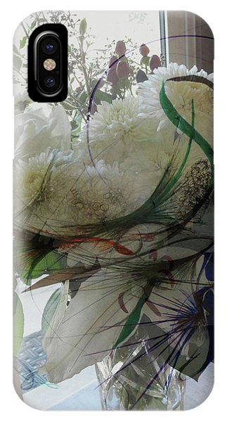 Abstract Flowers Of Light Series #3 IPhone Case