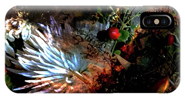 Abstract Flowers Of Light Series #5 IPhone Case