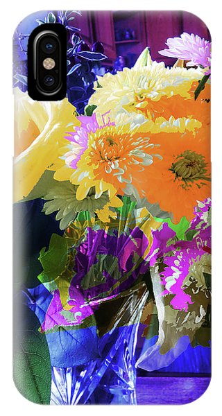 Abstract Flowers Of Light Series #7 IPhone Case