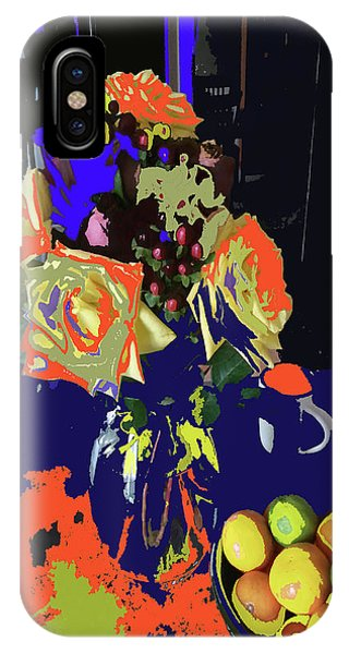 Abstract Flowers Of Light Series #8 IPhone Case