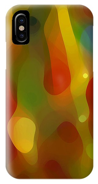 Abstract Flowing Light IPhone Case