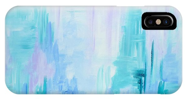 Abstract Frost 1 IPhone Case