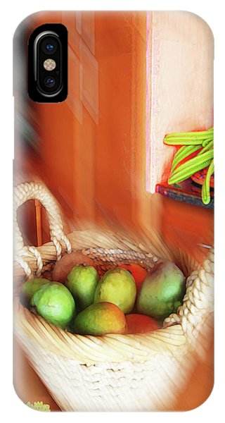 Abstract Fruit Art   100 IPhone Case
