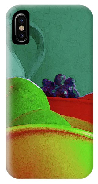 Abstract Fruit Art 85 IPhone Case