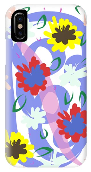 Abstract Garden #1 IPhone Case