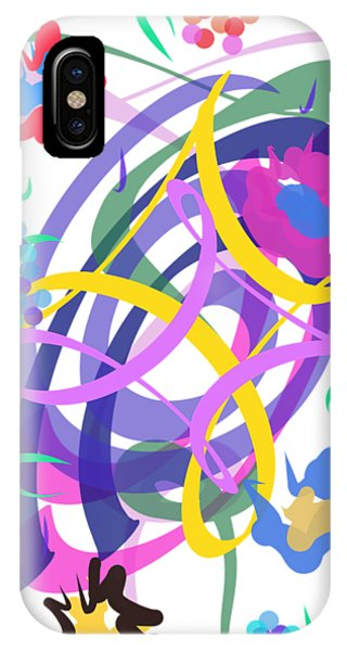 Abstract Garden #2 IPhone Case