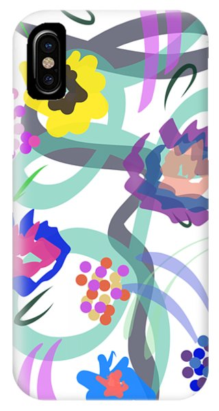Abstract Garden Nr 4 IPhone Case