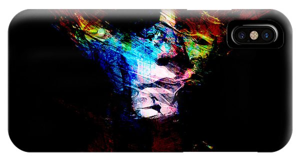 Digital Effect iPhone Case - Abstract Ghost by Marian Voicu