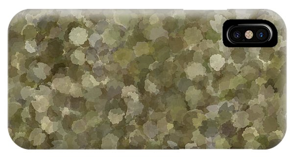 IPhone Case featuring the photograph Abstract Gold And Cream 2 by Clare Bambers