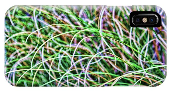 Abstract Grass IPhone Case