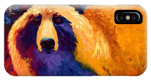 Abstract Grizz II IPhone Case