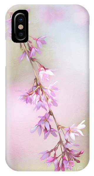 Abstract Higan Chery Blossom Branch IPhone Case
