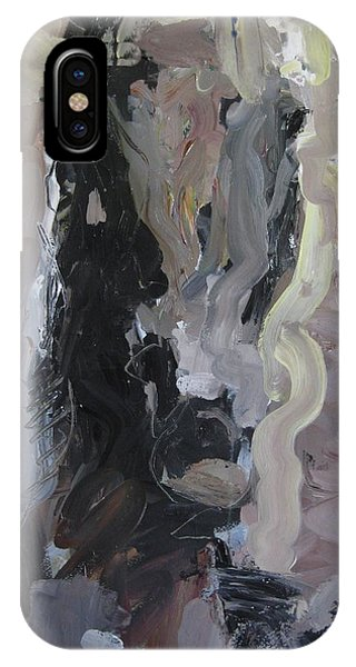 Abstract Horse Painting IPhone Case