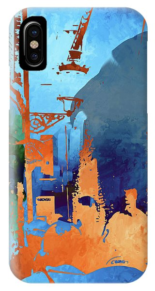 Abstract  Images Of Urban Landscape Series #1 IPhone Case