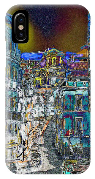 Abstract  Images Of Urban Landscape Series #11 IPhone Case