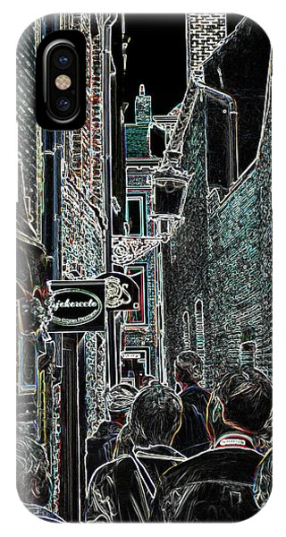 Abstract  Images Of Urban Landscape Series #12b IPhone Case