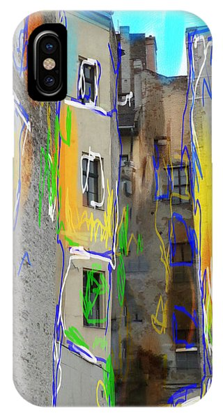 Abstract  Images Of Urban Landscape Series #13 IPhone Case
