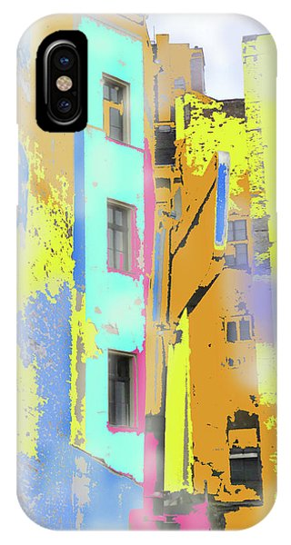 Abstract  Images Of Urban Landscape Series #2 IPhone Case