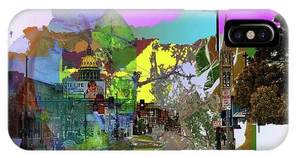 Abstract  Images Of Urban Landscape Series #5 IPhone Case