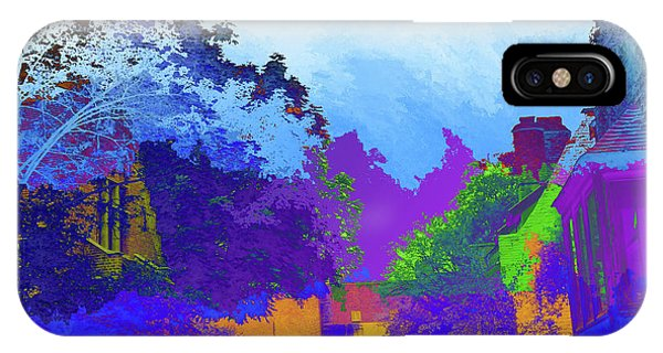 Abstract  Images Of Urban Landscape Series #8 IPhone Case