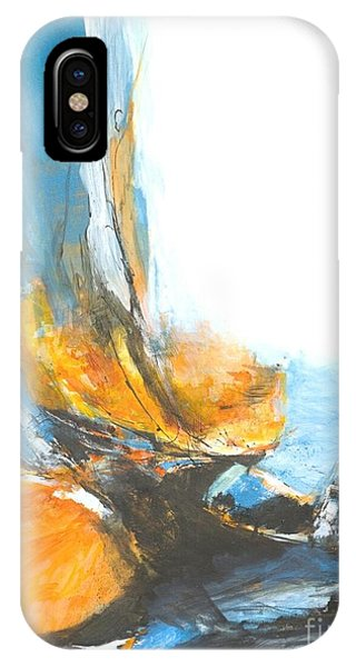 Abstract In Motion IPhone Case