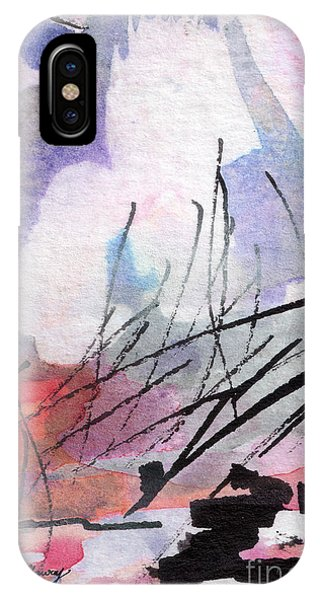 Abstract Intuitive 20161 Watercolor And Ink IPhone Case