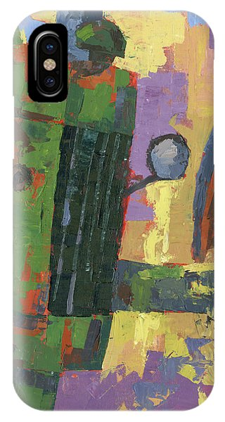 Abstract Johnny IPhone Case