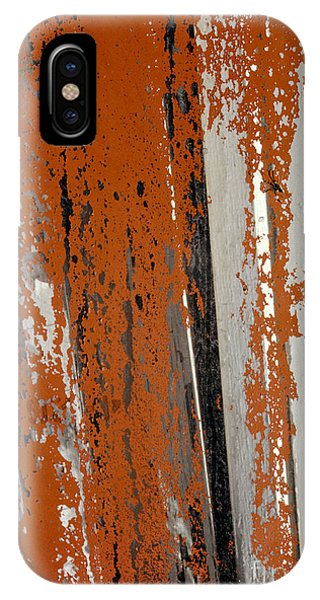 abstract junk yard photographs - Painted Glass IPhone Case