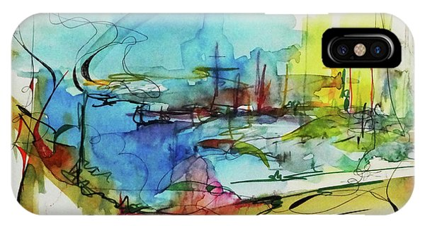 Abstract Landscape #1 IPhone Case