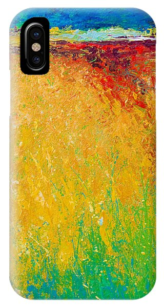 Abstract Landscape 1 IPhone Case