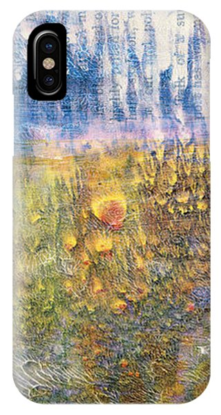 Abstract Landscape Art - Only Words - Sharon Cummings IPhone Case