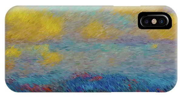 Abstract Landscape Expressions IPhone Case