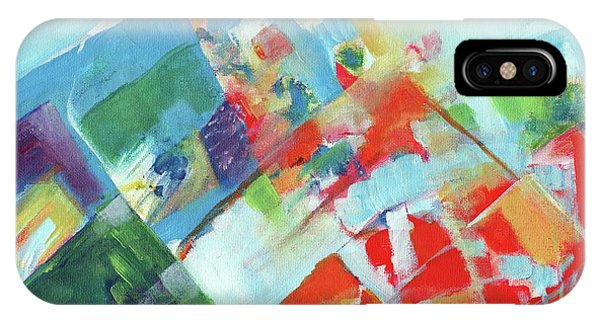 Abstract Landscape1 IPhone Case